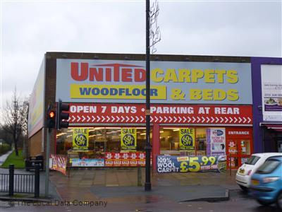 United Carpets Woodfloor & Beds on Austhorpe Road - Carpets & Rugs in Cross Gates, Leeds LS15 8QR