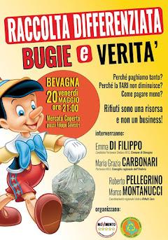 BEVAGNA - RACCOLTA DIFFERENZIATA, BUGIE E VERITA' - 20 MAGGIO 2016