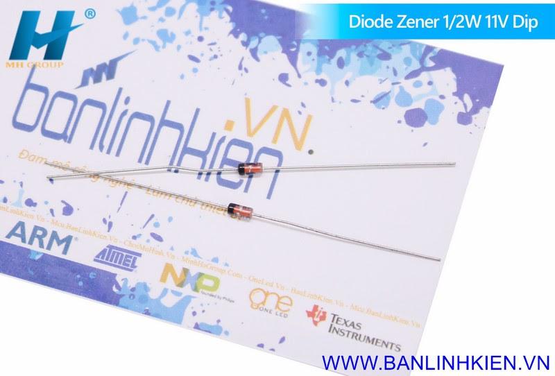 Diode Zener 12W 11V Dip