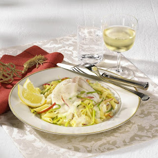 Sole in White Wine Sauce