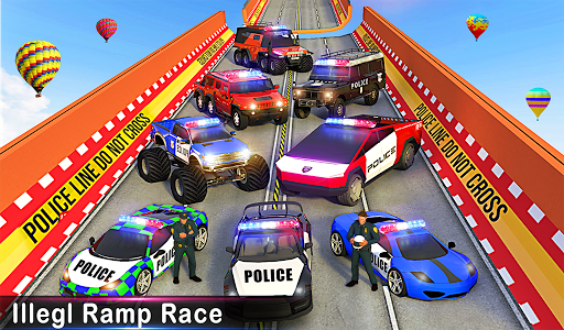 Police Ramp Car Stunts GT Racing Car Stunts Game 1.3.0 screenshots 21