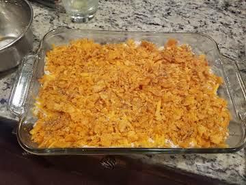 Chicken Cheez-It Casserole