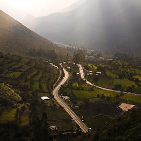 Peru by Pamela Flores - Landscapes Mountains & Hills ( peru, nature, wide angle, green, landscape, golden )