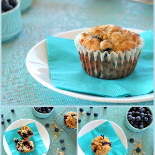 Blueberry Oat Flax Muffins Recipes