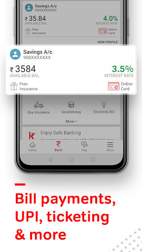 Airtel Thanks - Recharge, Bill Pay, Bank, Live TV android2mod screenshots 4