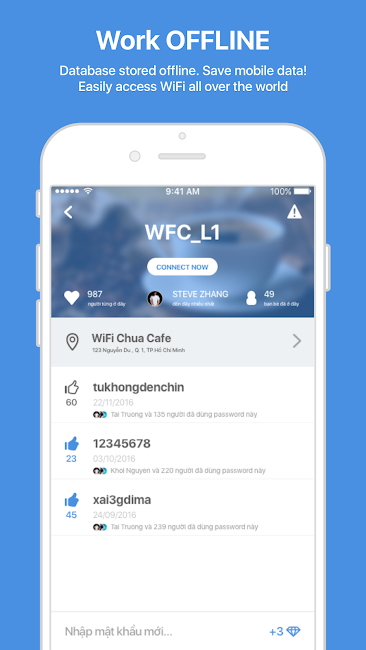 #2. WiFi Chùa - Free WiFi password (Android)