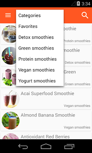 100+ Smoothie Recipes screenshot