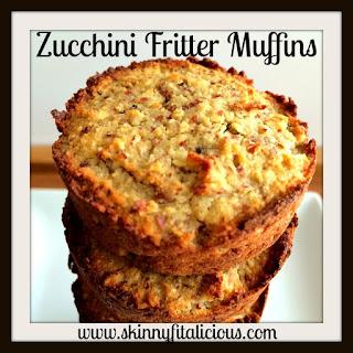 Zucchini Fritter Muffins