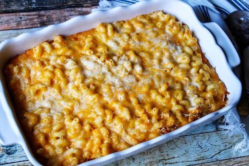 8 Cheese Baked Macaroni