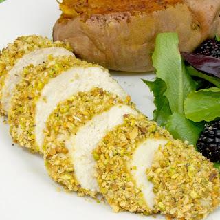 Pistachio Crusted Chicken.