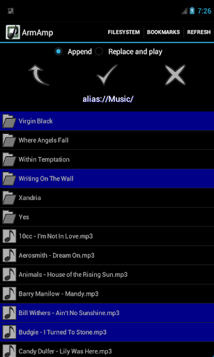 ArmAmp Music Player screenshot 4