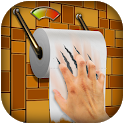 Toilet Paper Rolling Game icon