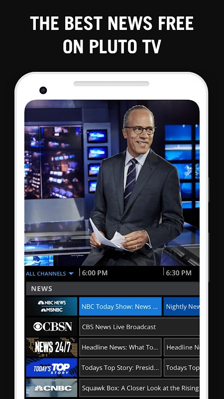 Pluto TV - It's Free TV screenshots
