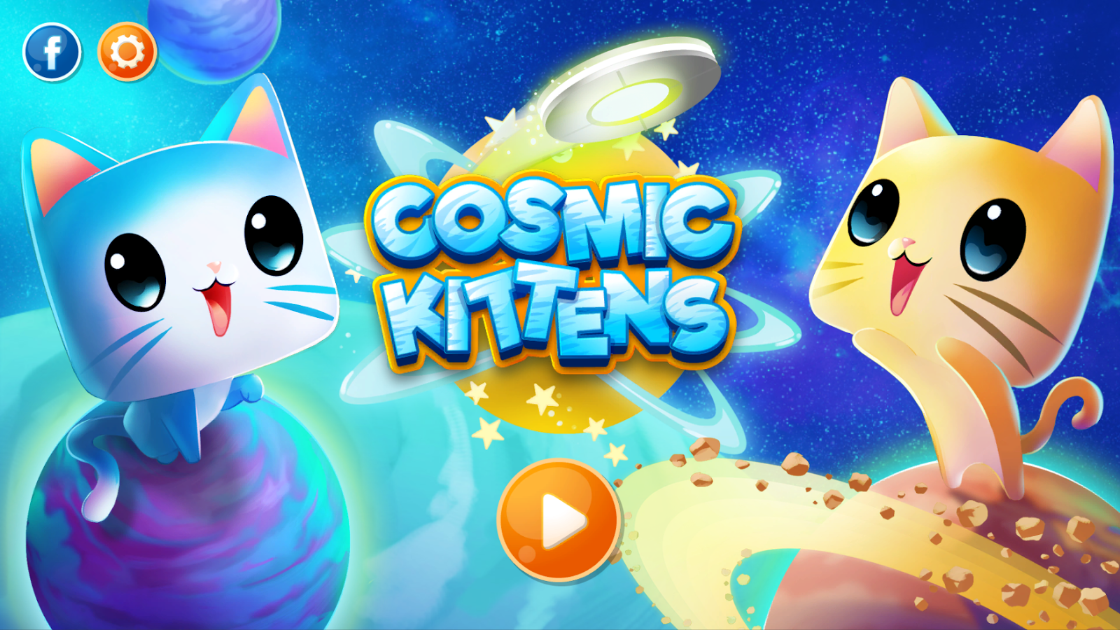 Cosmic Kittens: captura de pantalla