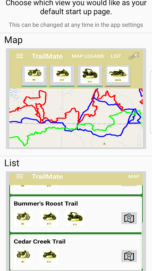 TrailMate - ORV Trails - MI- screenshot