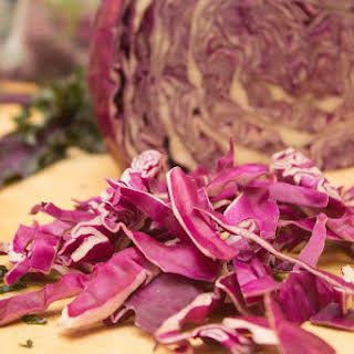 Red Cabbage Sauerkraut.