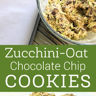 Homemade Zucchini-Oat Chocolate Chip Cookies