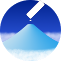 AR Mountains Map  -- 400000 peaks in the world -- icon
