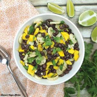 Black Bean Mango Salad Recipe