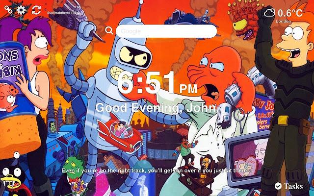Futurama Wallpapers New Tab Themes