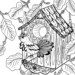Garden Coloring Book Screenshot Thumbnail