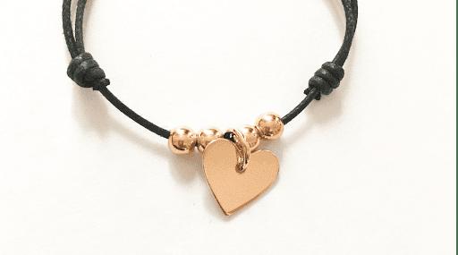 bracelet-coeur-balle-plaque-or