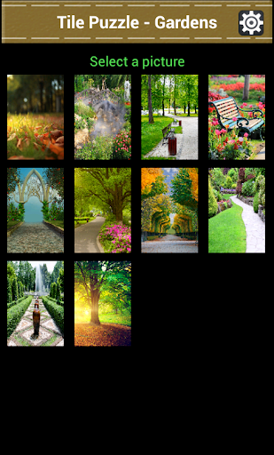 Tile Puzzle – Gardens