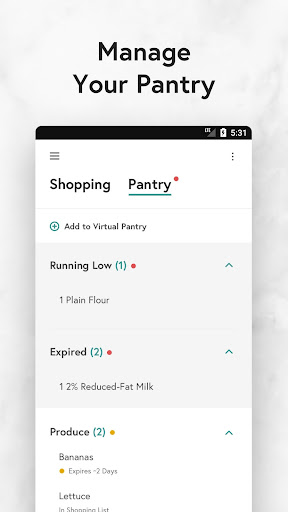 Yummly Recipes & Shopping List screenshots 3