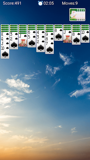 Spider Solitaire - لقطات شاشة مجانية لألعاب الورق Solitaire Fun 4