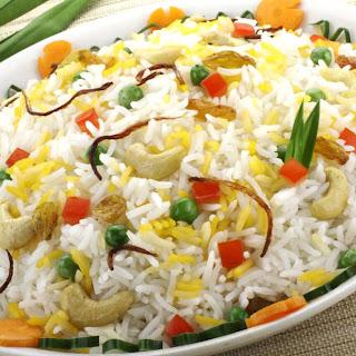Summer Vegetable Rice Pilaf
