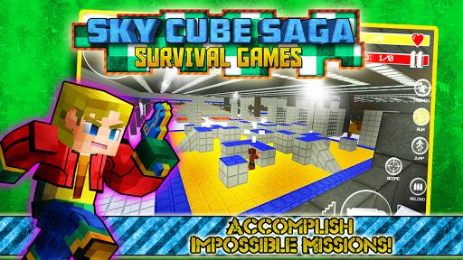 Sky Cube Saga Survival Games