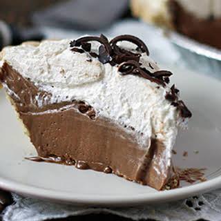 Homemade Baker's Square French Silk Pie!.