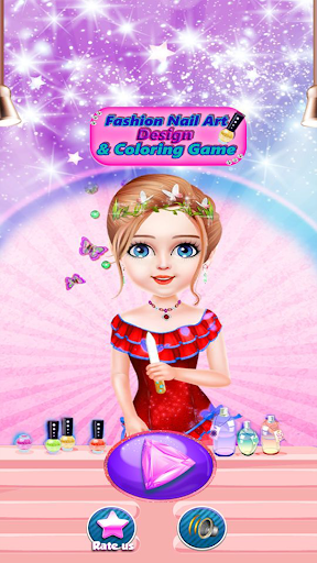 Fashion Nail Art Design & Coloring Game filehippodl screenshot 6