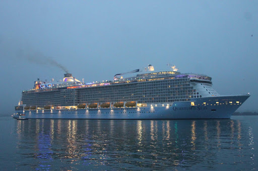 Quantum-of-the-Seas-southampton.jpg - Quantum of the Seas seen arriving for the first time in Southampton, UK, in October 2014.