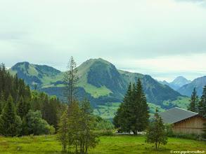 Photo: #010-La vue depuis notre chambre à l'hôtel Les sapins à Manigod.