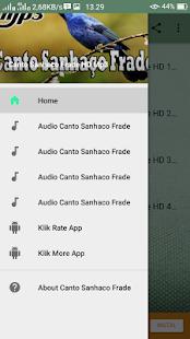 Canto Sanhaco Frade HD Mp3 - náhled