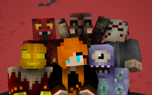 玩免費書籍APP|下載Halloween Skins for Minecraft app不用錢|硬是要APP