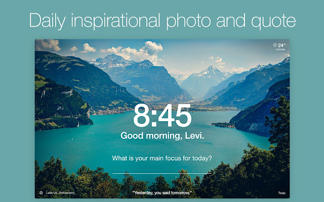 Good Morning Wallpapers With Beautiful Quotes Momentum Chrome Web Store