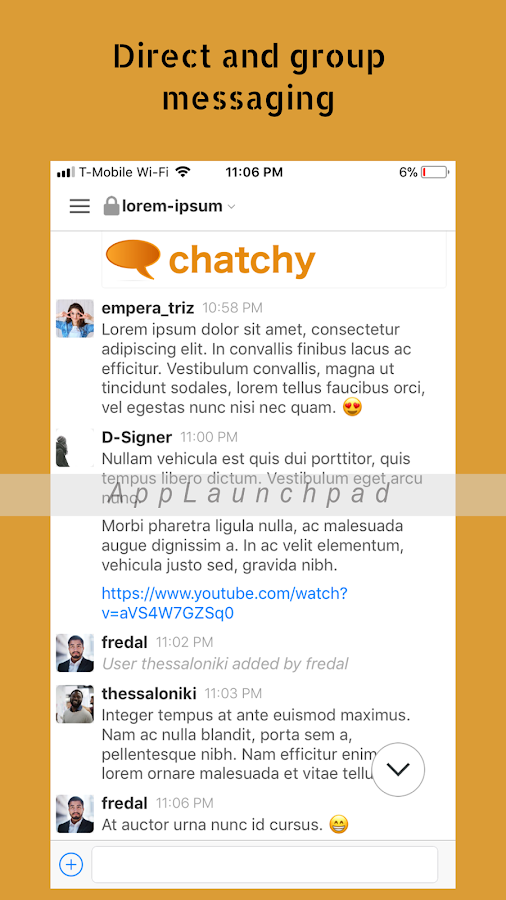 chatchy- screenshot