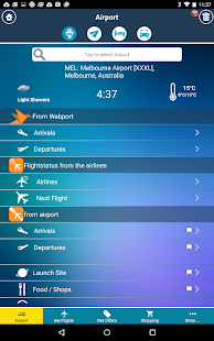 Melbourne Airport MEL Flight Tracker- screenshot thumbnail