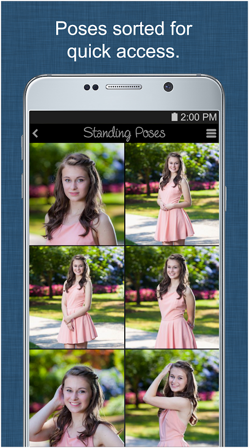 Portrait Photography Poses Pro- screenshot