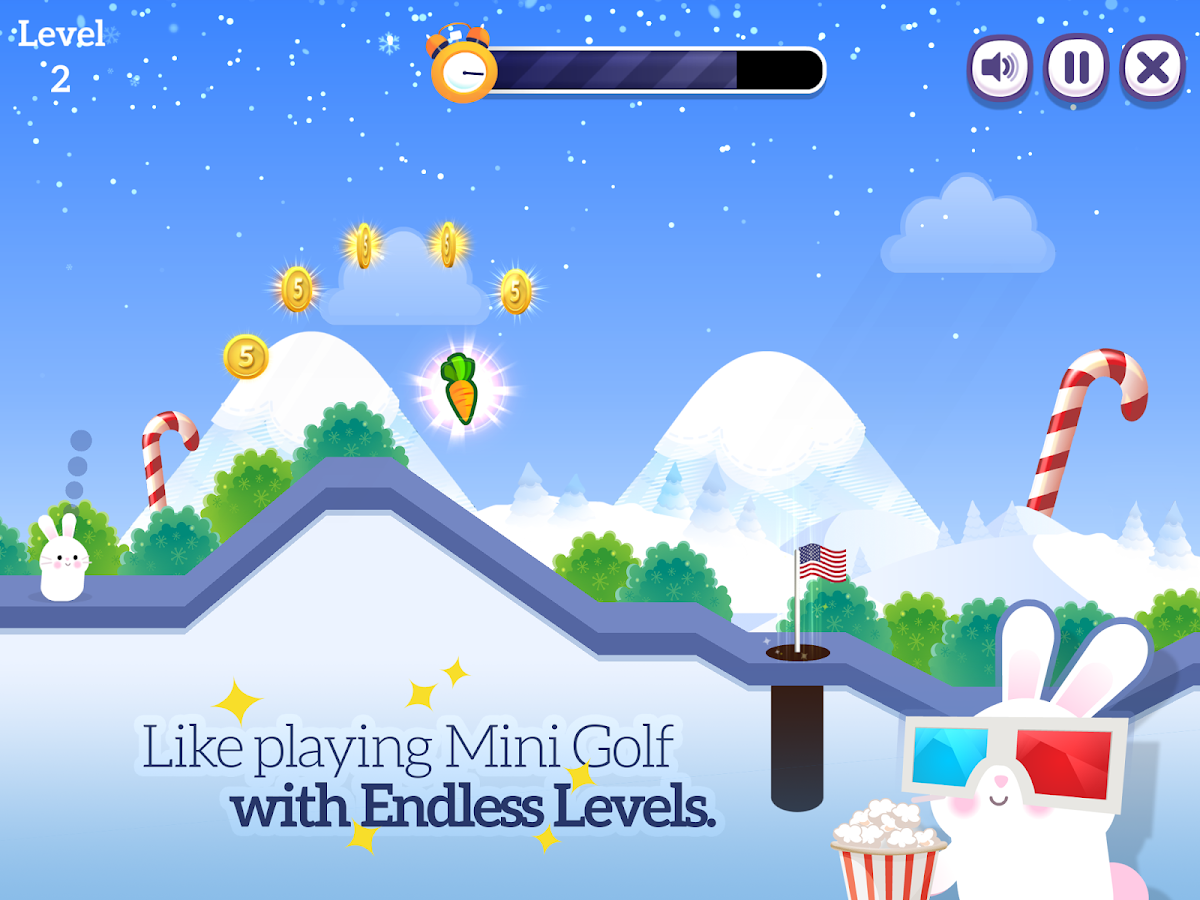 Bunny Golf- screenshot