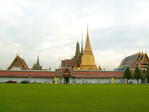 Photo: Bangkok, Wat Phra Kaew (Temple of the Emerald Buddha)