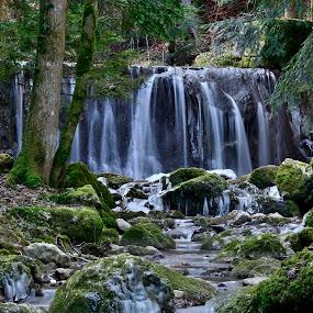 Tüfelsschlucht by Radisa Miljkovic - Landscapes Waterscapes
