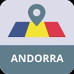 Andorra Mapa Offline Icon