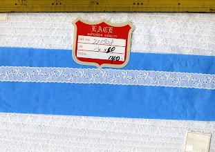 Photo: №735928-002綿レース:巾19mm