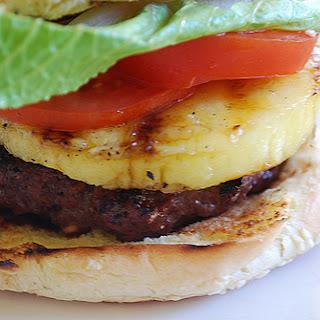 Teriyaki Hamburgers and Roasted Potato Wedges