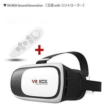 VR BOX 超高清虛擬3D眼鏡送藍牙便攜式遙控手柄