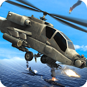 Navy Gunship Air Combat - Sea
