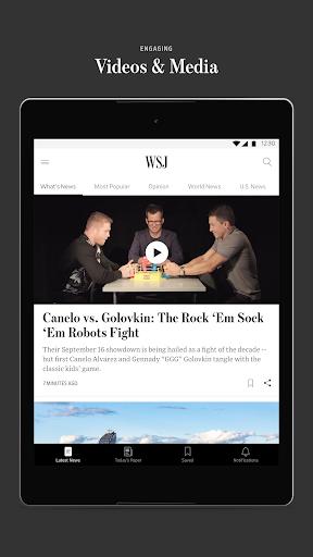 The Wall Street Journal: Business & Market News  screenshots 15